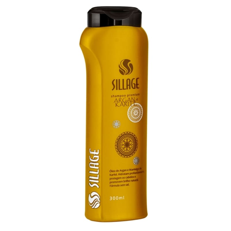 Sillage Premium Argan Karité - Shampoo 300ml