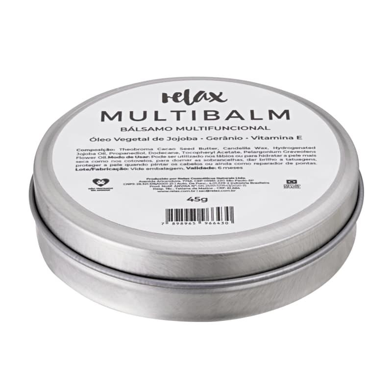 Relax Cosméticos Multibalm - Bálsamo Multifuncional 45g