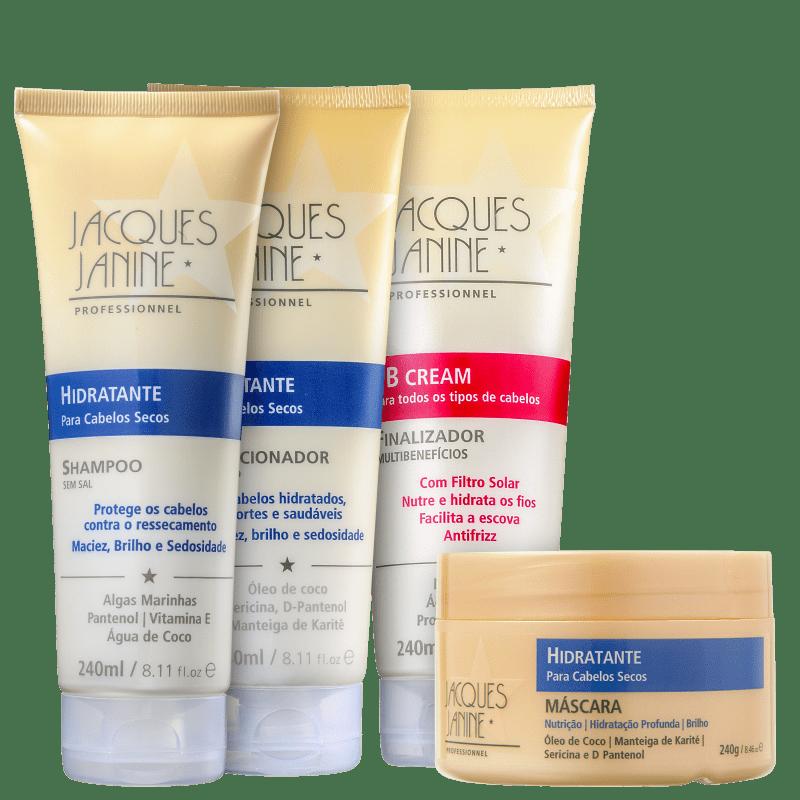 Kit Jacques Janine Professionnel Hidratante BB Cream (4 Produtos)