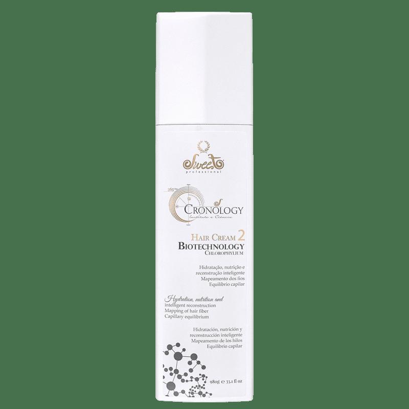Sweet Hair Cronos Biotechnology Clorophilum - Máscara Capilar 980g