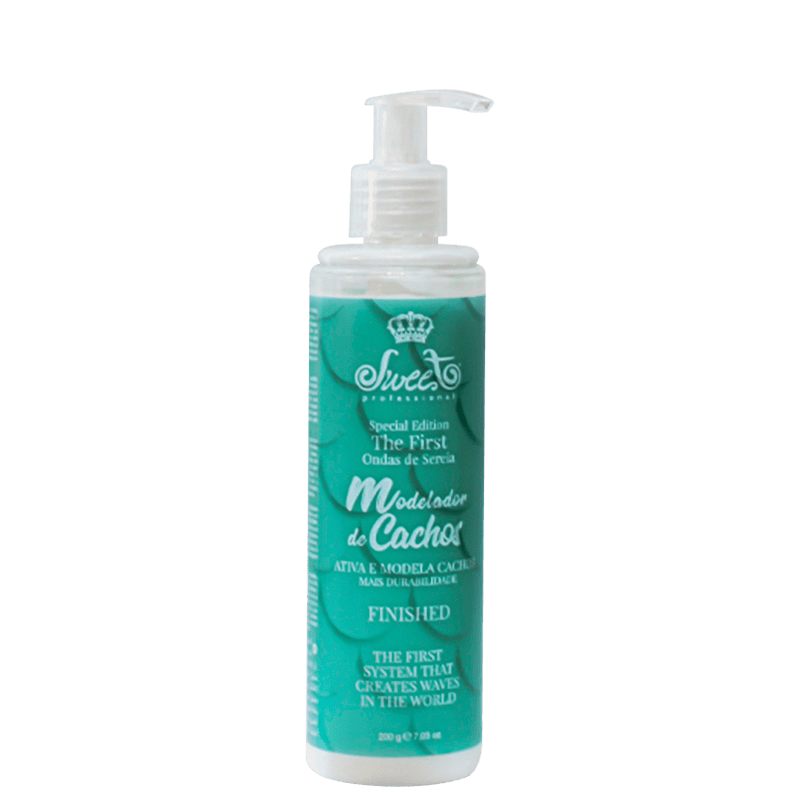 Sweet Hair Kiss Me Curls - Creme Modelador 200g