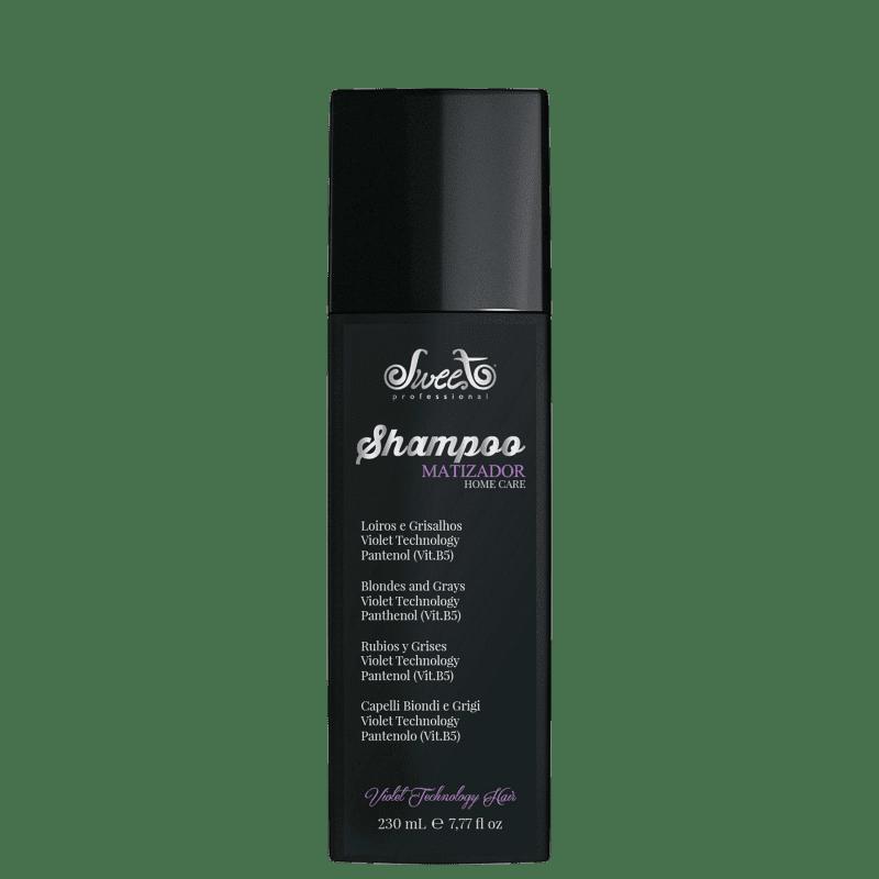 Sweet Hair Kiss Me Platinum Silver - Shampoo Matizador 230ml