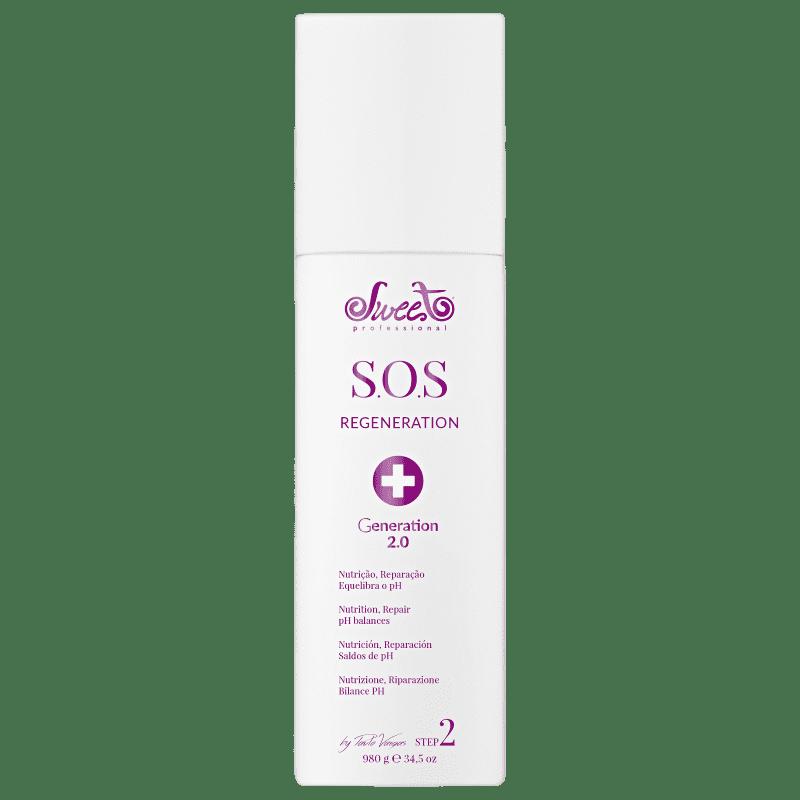 Sweet Hair Kiss Me Sos Regeneration Passo 2 - Tratamento 980g