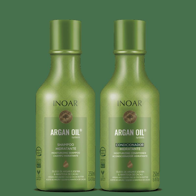 Kit Inoar Argan Oil System (2 Produtos)