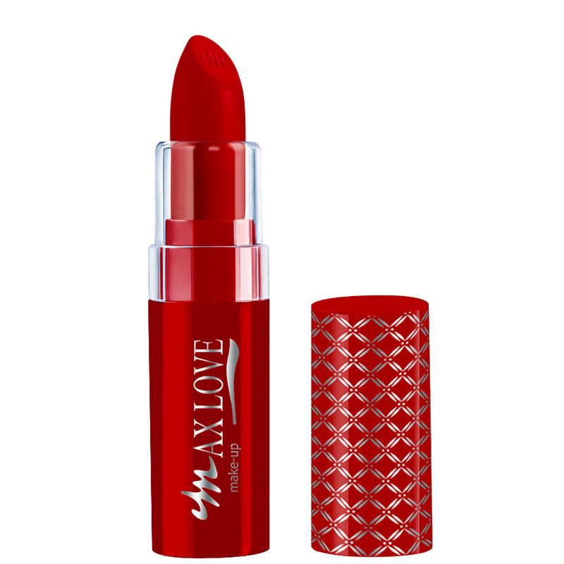 Max Love Rouge Matte 350 Vermelho - Batom 3,5g