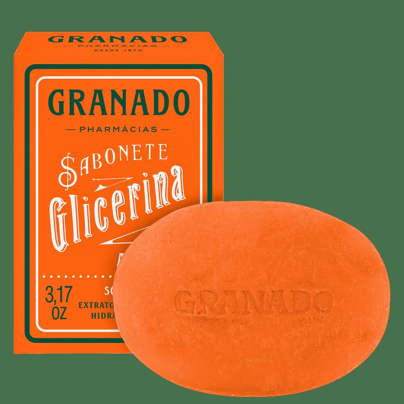 Granado Sabonete Vegetal de Glicerina e Amêndoas - Sabonete em Barra 90g