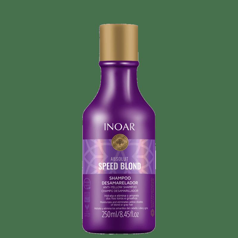 Shampoo Desamarelador Absolut Speed Blond 250ml