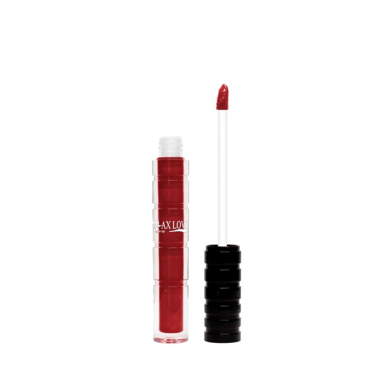 Max Love Cremoso 805 Vermelho Escuro - Batom Líquido 4ml