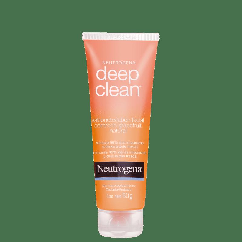 Neutrogena Deep Clean Grapefruit - Sabonete Líquido Facial 80g