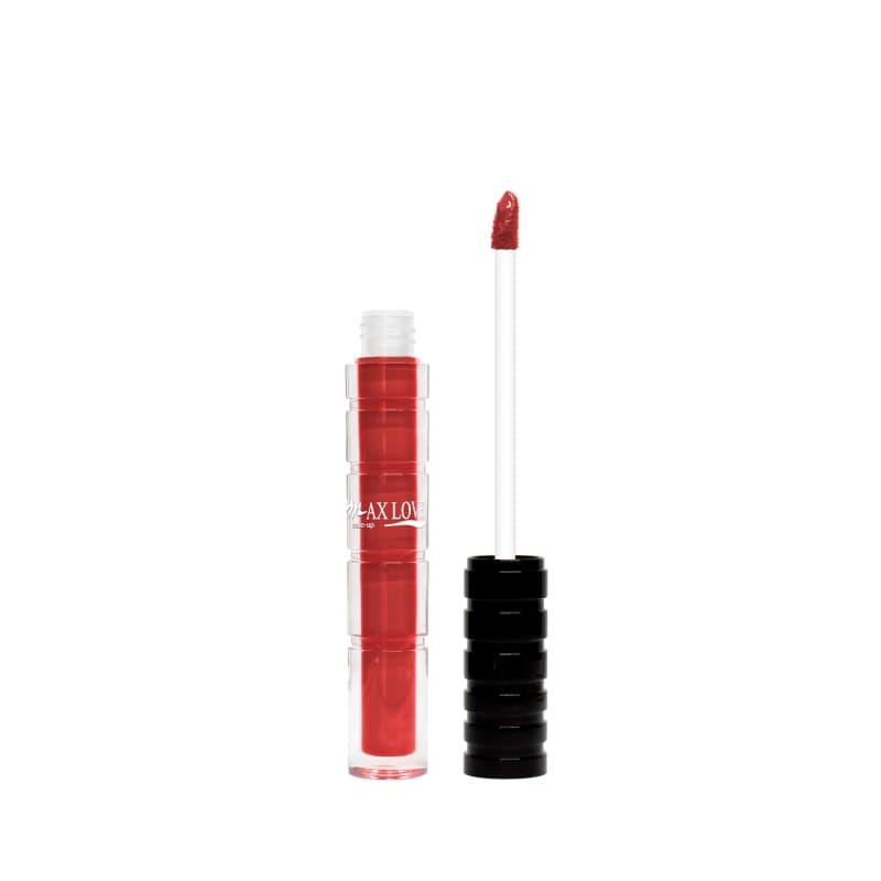 Max Love Cremoso 809 Vermelho - Batom Líquido 4ml