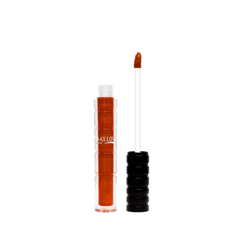 Max Love Cremoso 802 Vermelho Cobre - Batom Líquido 4ml