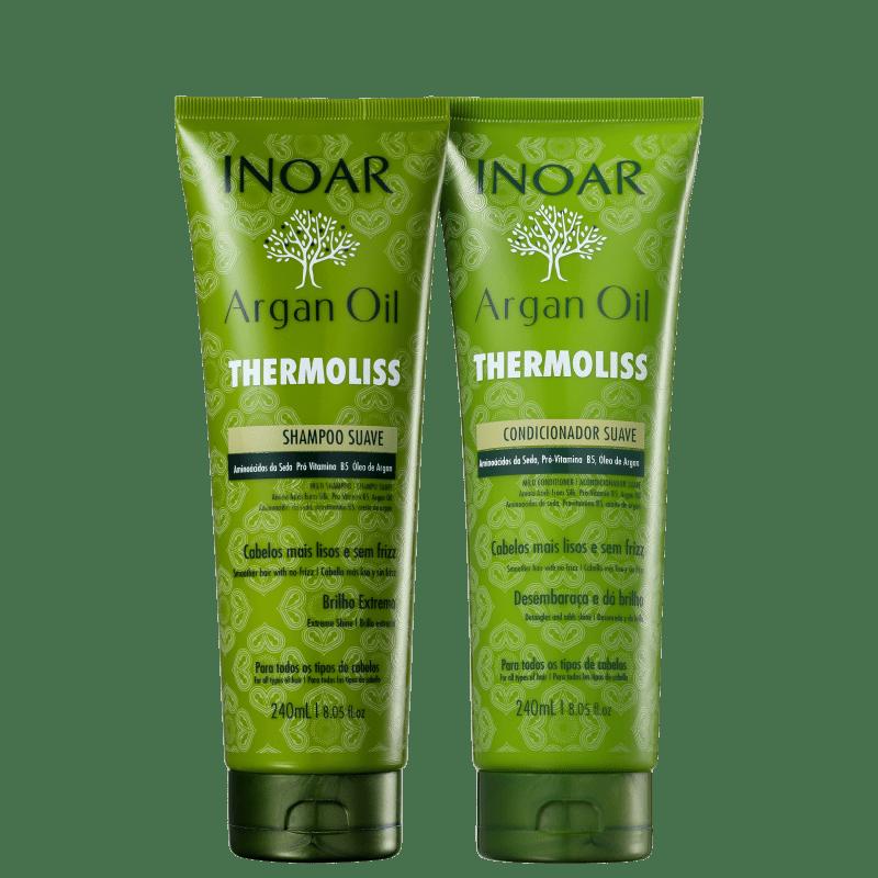 Inoar Argan Oil Thermoliss Duo Kit (2 produtos)