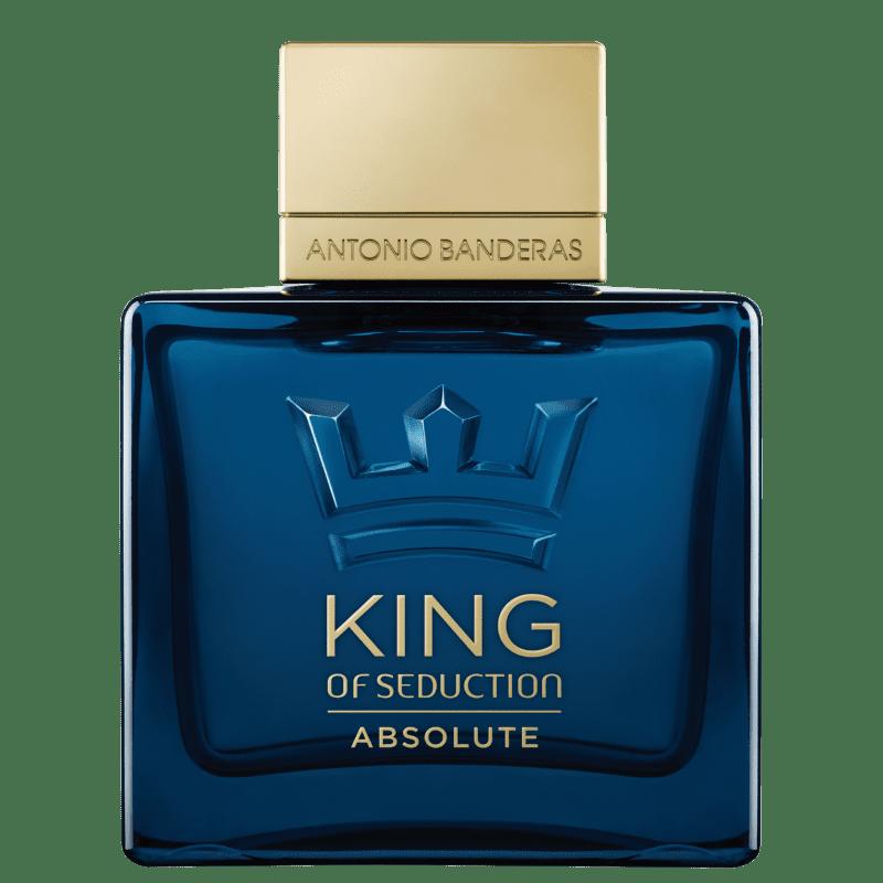King of Seduction Absolute Antonio Banderas Eau de Toilette - Perfume Masculino 100ml