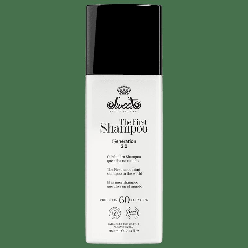 Sweet Hair The First Liso Intenso - Shampoo Alisante 980ml