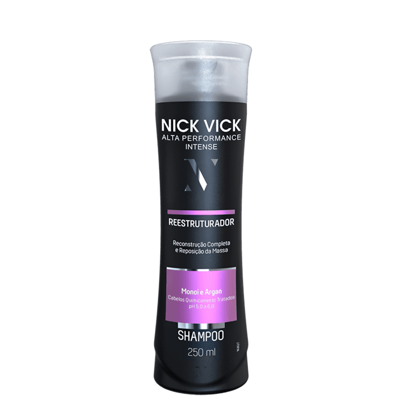 Nick & Vick PRO-Hair Reestruturador - Shampoo 250ml