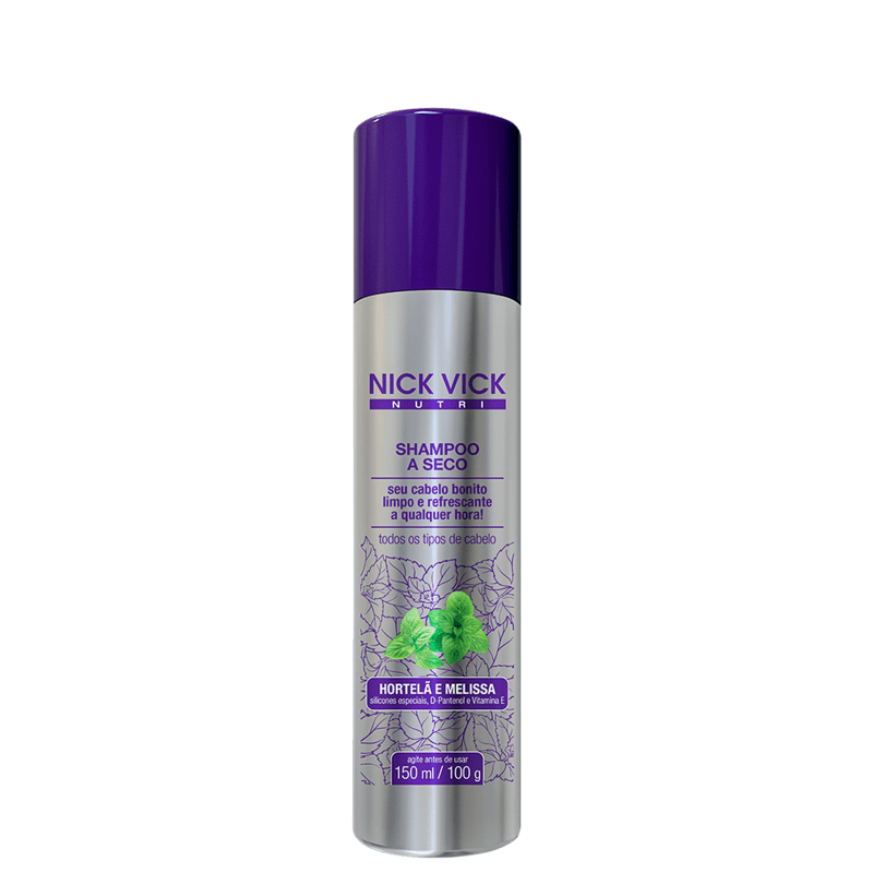 Nick & Vick NUTRI-Hair - Shampoo a Seco 150ml