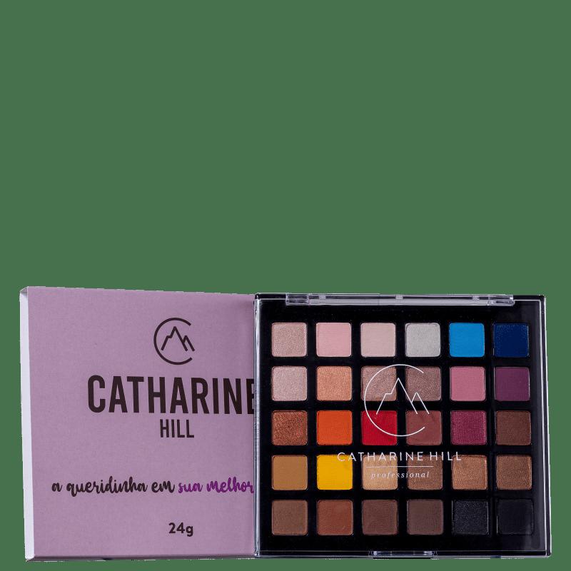 Catharine Hill Sombras Variadas 1017 - Paleta de Sombras 24g