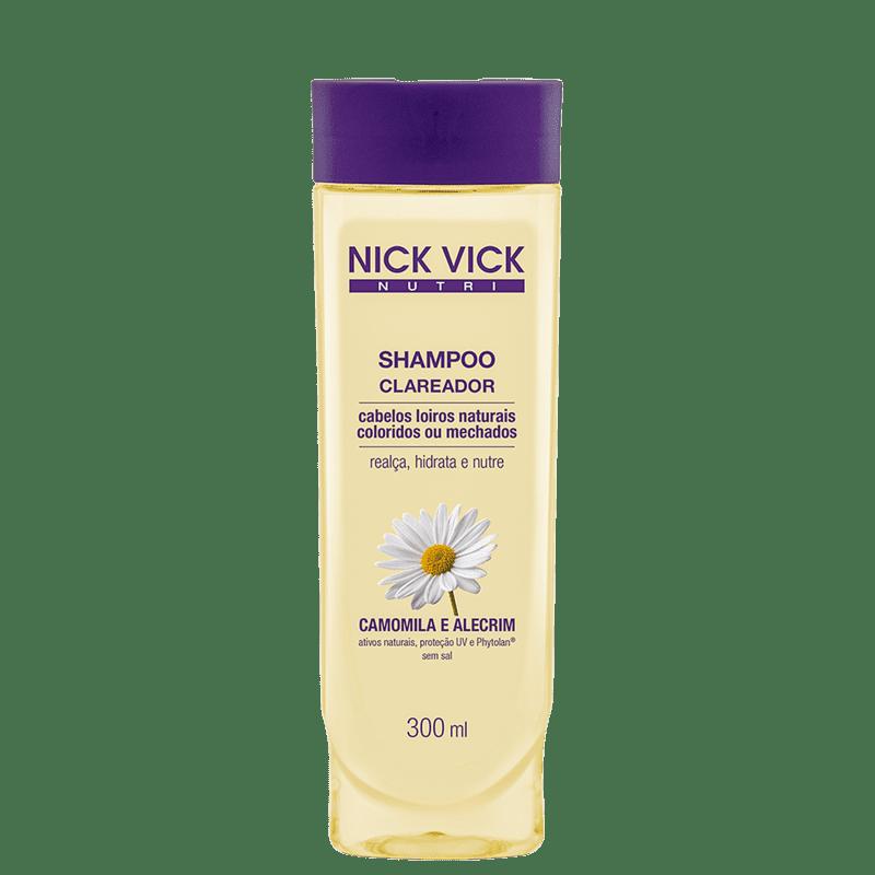 Nick & Vick NUTRI-Hair - Shampoo Clareador 300ml