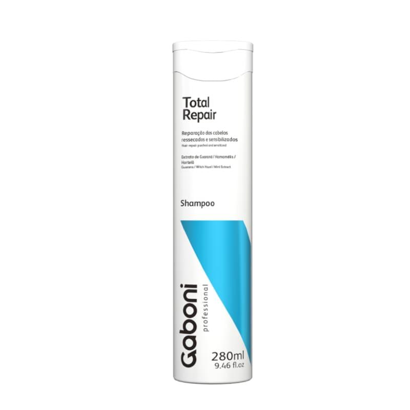 Gaboni Total Repair - Shampoo Nutrição e Reparação Total 280ml