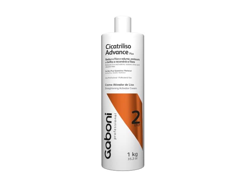 Gaboni Cicatriliso Advance Plus Creme Ativador - Escova Progressiva 1L