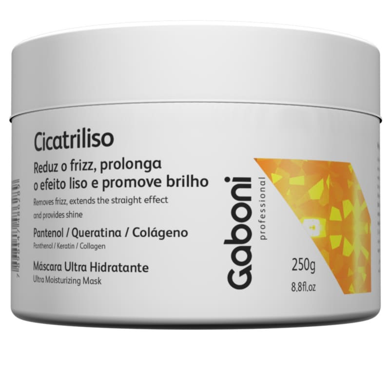 Gaboni Cicatriliso - Mascara Hidratante AntiFrizz 250g