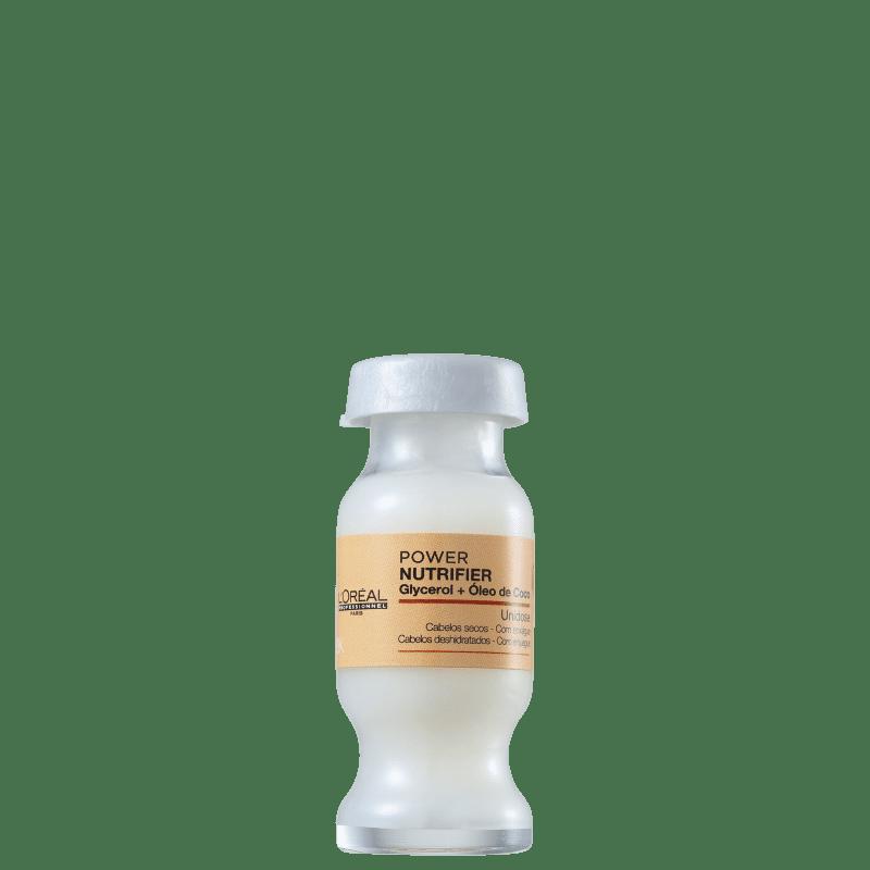 Ampola de Nutrição L'Oréal Professionnel Nutrifier Power 10ml