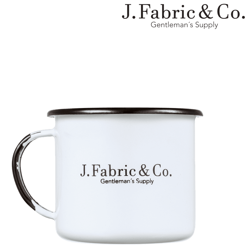 J. Fabric & Co. Iron Mug - Caneca