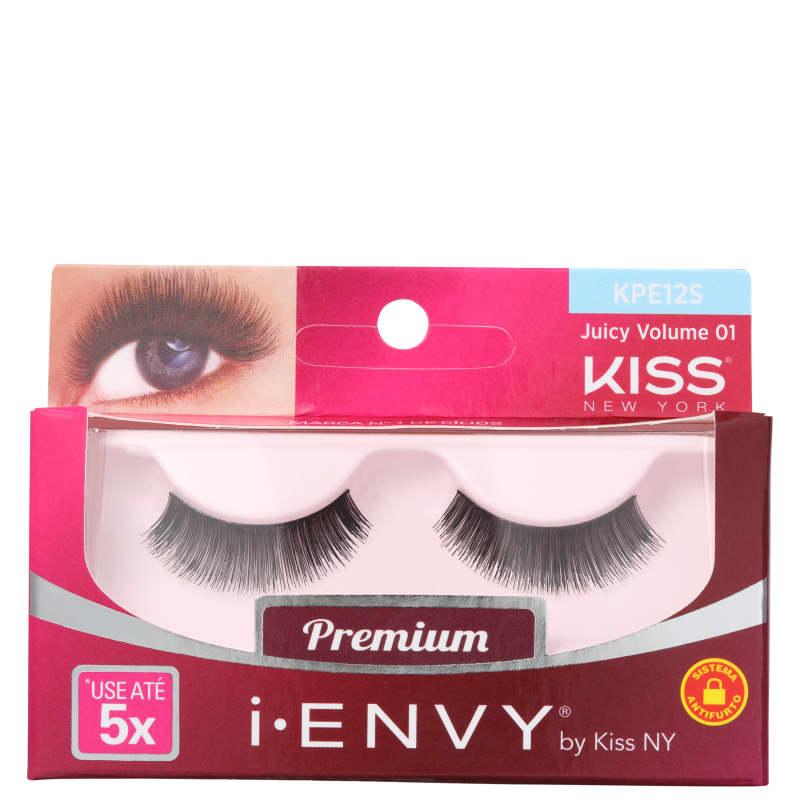 Kiss New York i-Envy Juicy Volume 01 - Cílios Postiços
