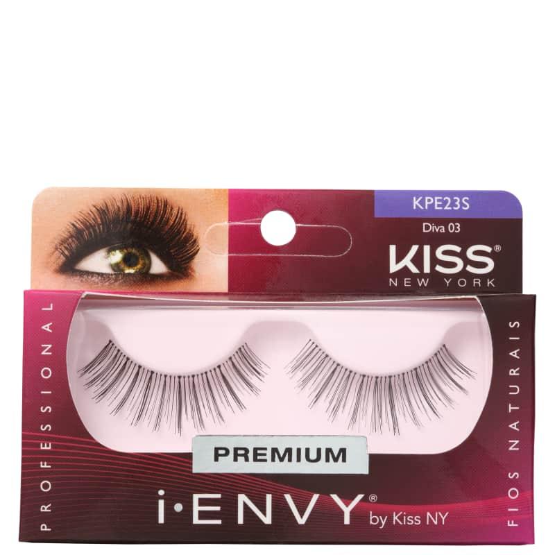 Kiss New York i-Envy Diva 03 - Cílios Postiços