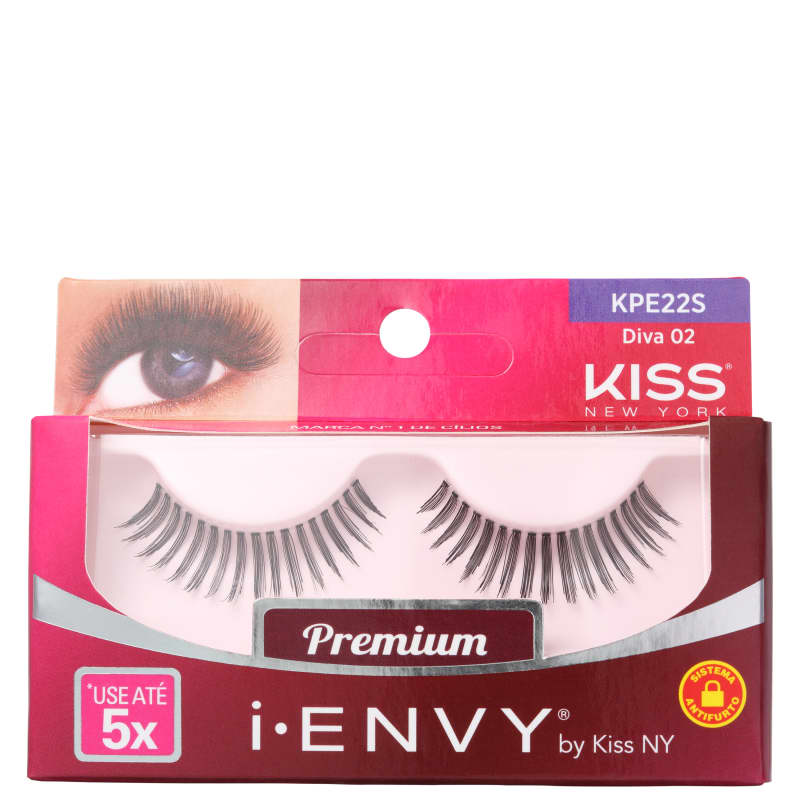 Kiss New York i-Envy Diva 02 - Cílios Postiços
