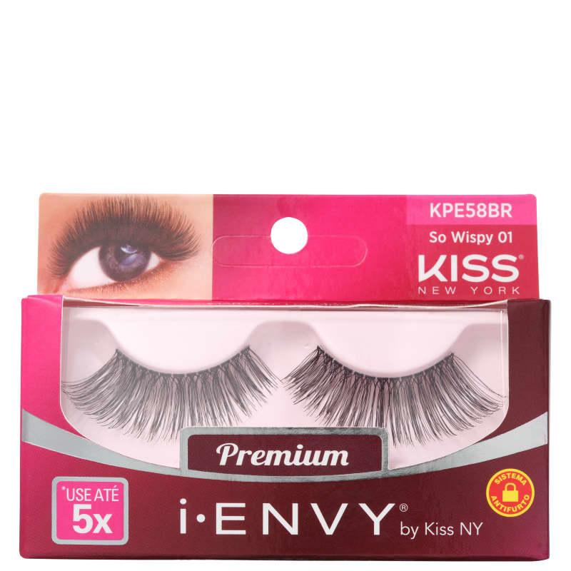 Kiss New York i-Envy So Wispy 01 - Cílios Postiços