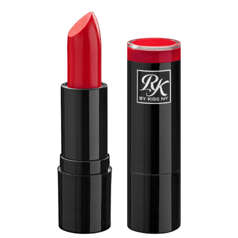 Kiss New York Ruby Kisses Romã - Batom Cremoso 3,5g