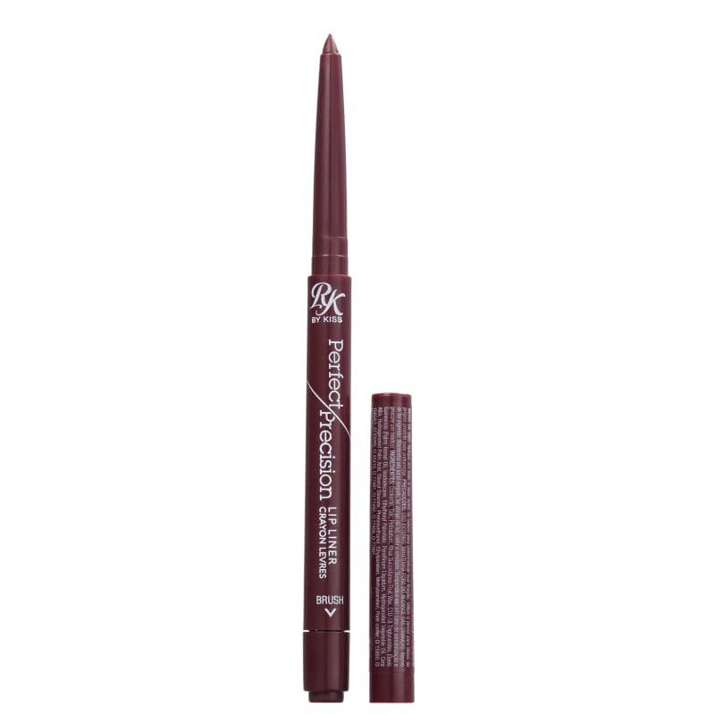 Kiss New York Ruby Kisses Perfect Precision Burgundy Wine - Delineador Labial 0,28g