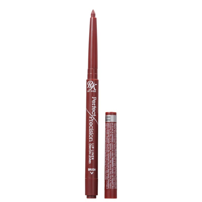 Kiss New York Ruby Kisses Perfect Precision Red Wine - Delineador Labial 0,28g