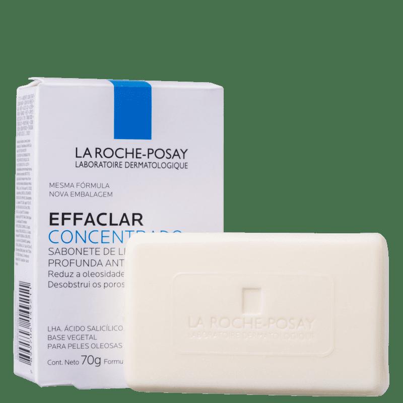 La Roche-Posay Effaclar Concentrado - Sabonete em Barra Facial 70g