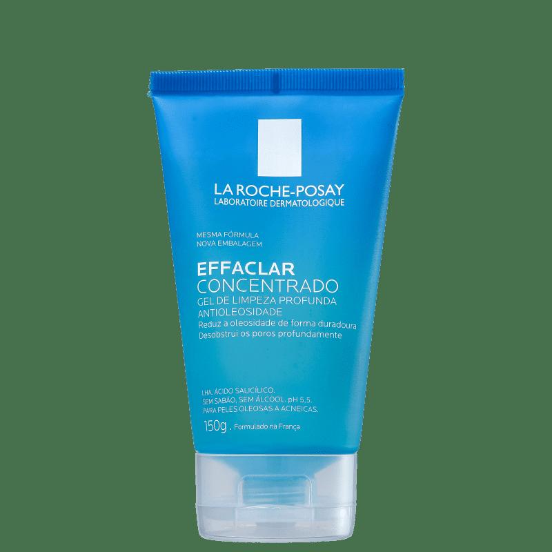 La Roche-Posay Effaclar Concentrado Desincrustante - Gel de Limpeza Facial 150g