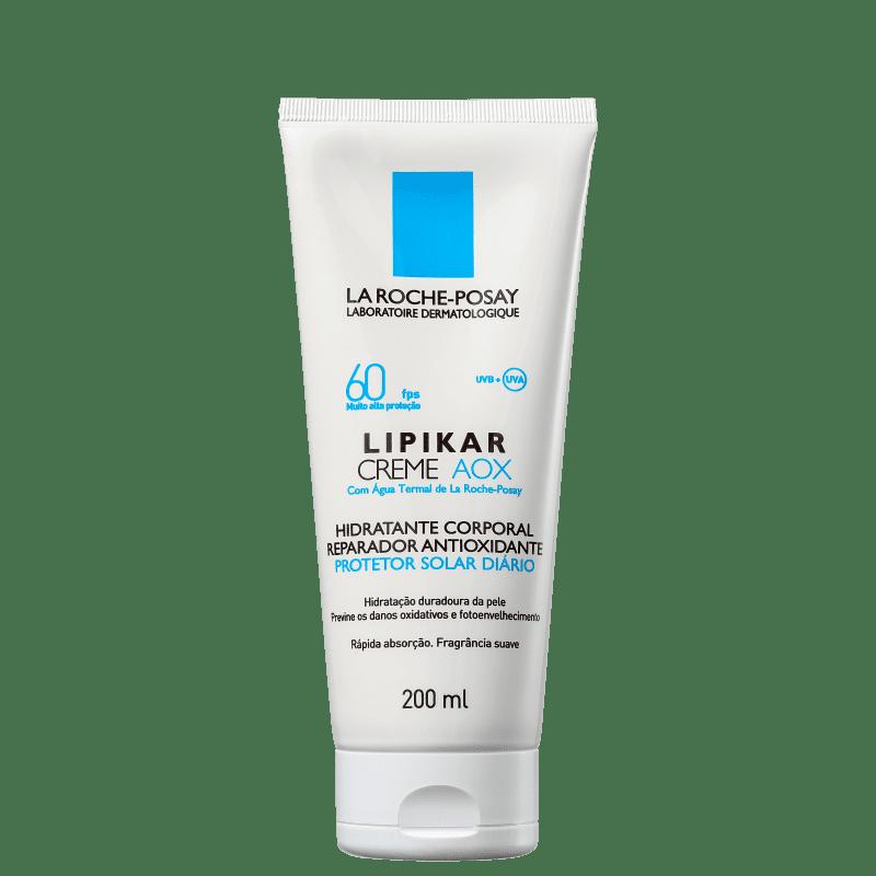 La Roche-Posay Lipikar AOX FPS60 - Creme Hidratante Corporal 200ml