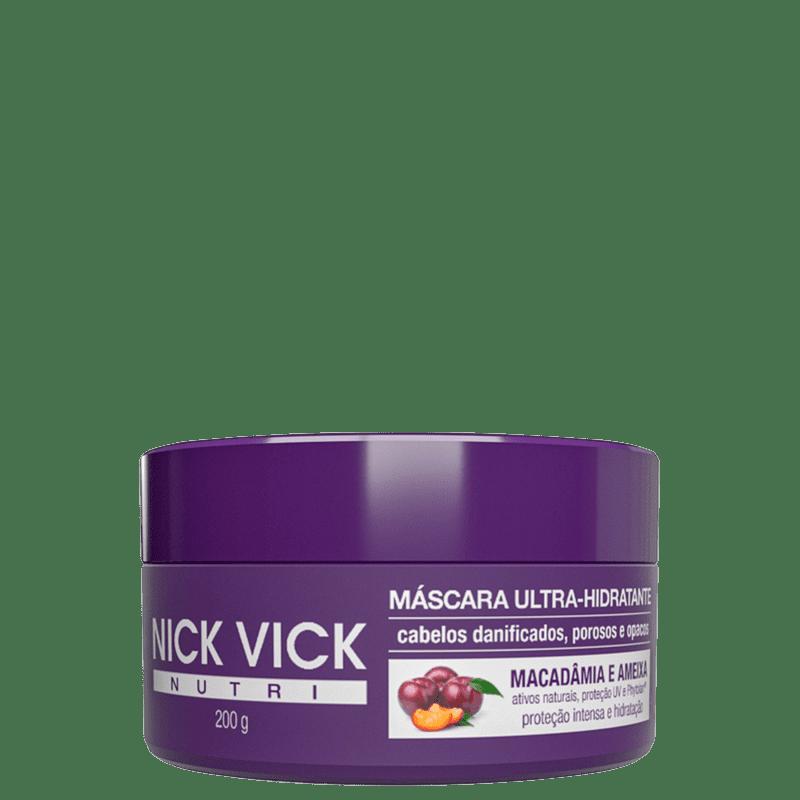 Nick & Vick NUTRI-Hair Ultra-Hidratante - Máscara Capilar 200g