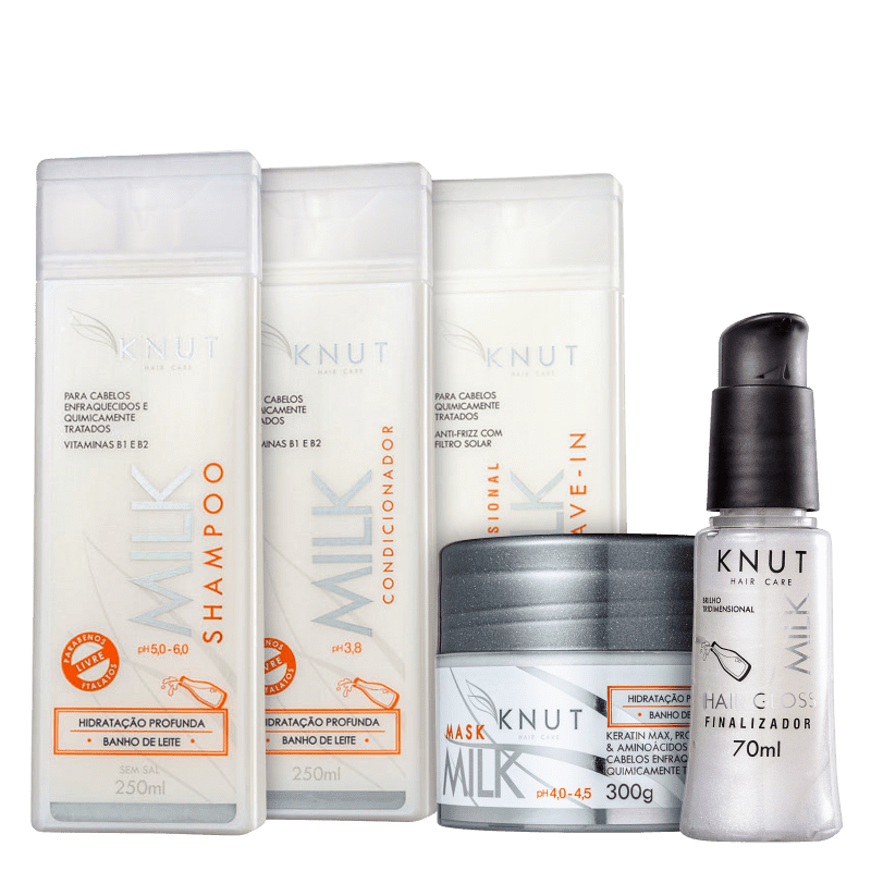 Kit Knut Milk Full (5 Produtos)