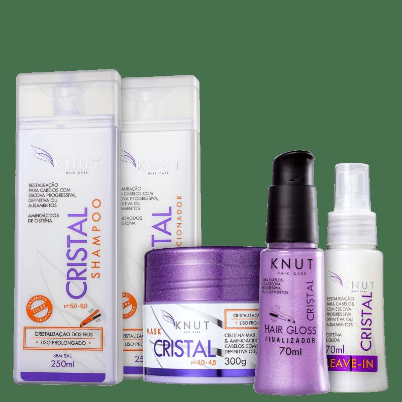 Kit Knut Cristal Full (5 Produtos)