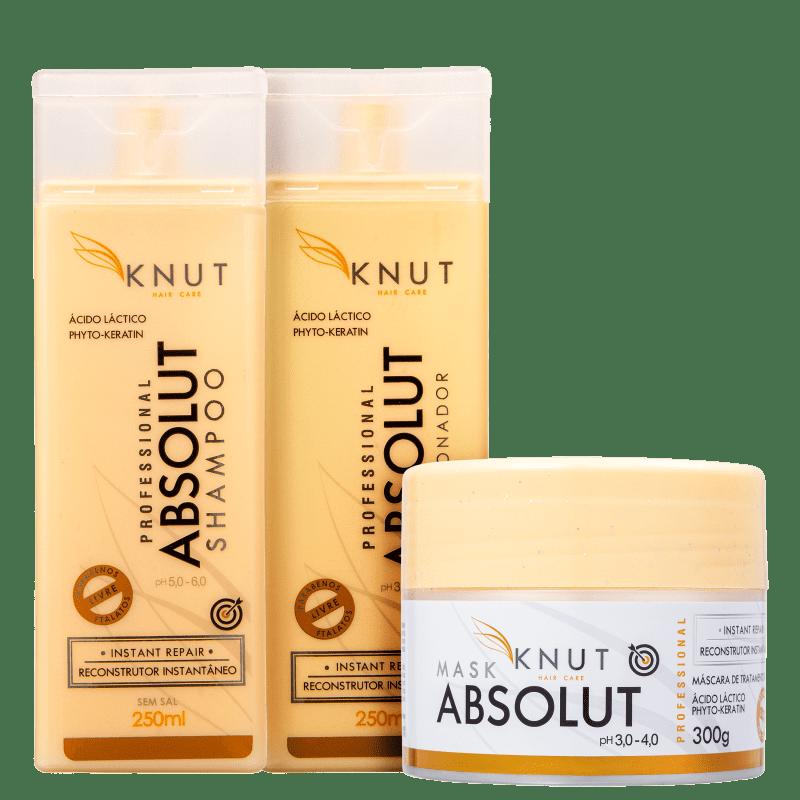 Kit Knut Absolut Trio (3 Produtos)