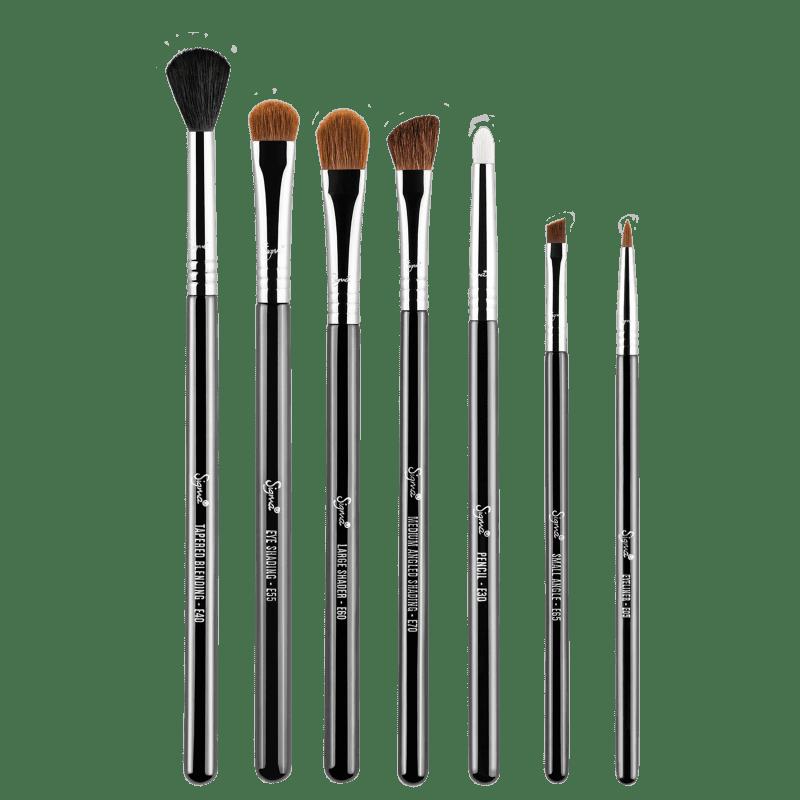 Kit de Pincéis Sigma Beauty Basic Eyes (7 Produtos)