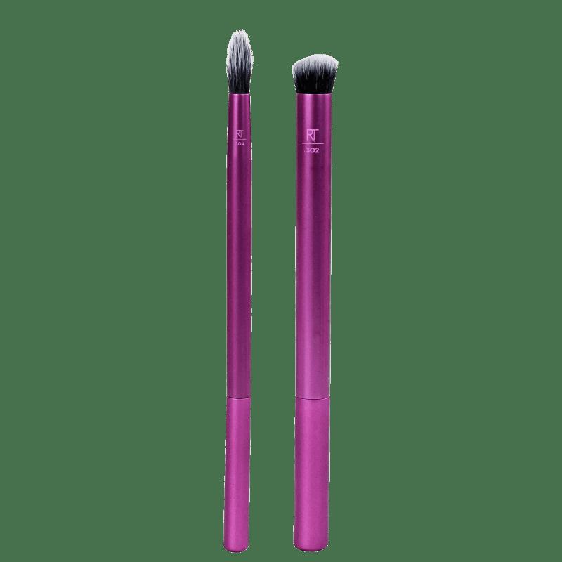 Kit de Pincéis Real Techniques Perfect Crease Duo (2 Produtos)