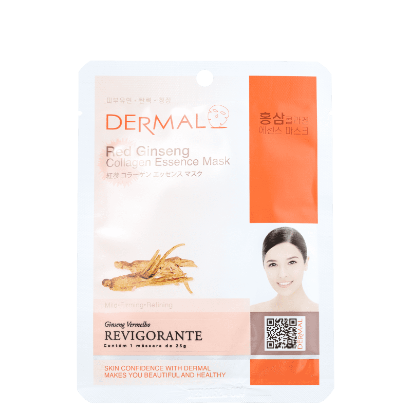 Dermal Red Ginseng - Máscara Facial (1 unidade)