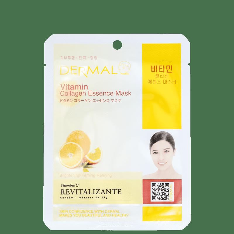 Dermal Vitamin - Máscara Facial (1 unidade)