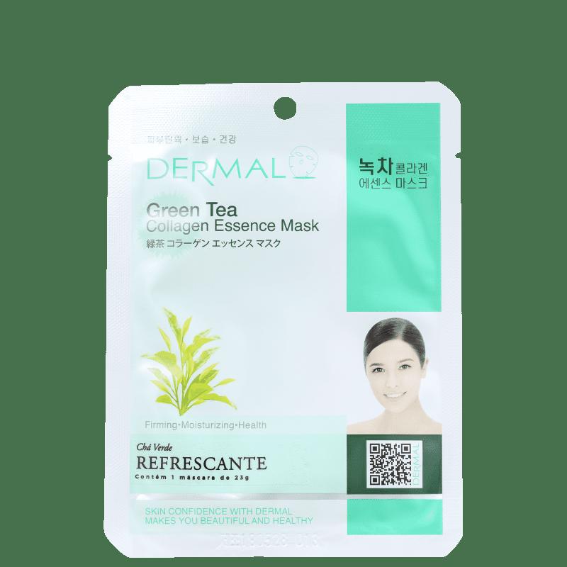 Dermal Green Tea - Máscara Facial (1 unidade)