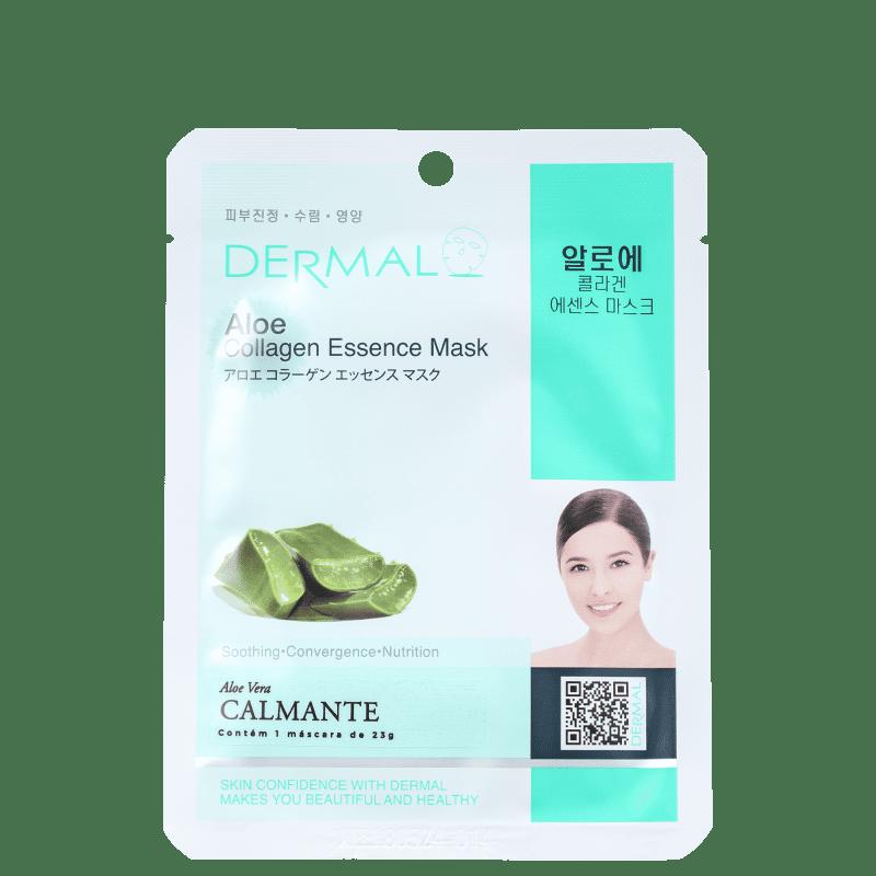 Dermal Aloe - Máscara Facial (1 unidade)