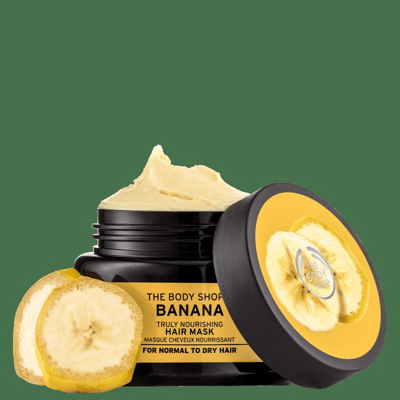 The Body Shop Banana Truly - Máscara de Nutrição 240ml