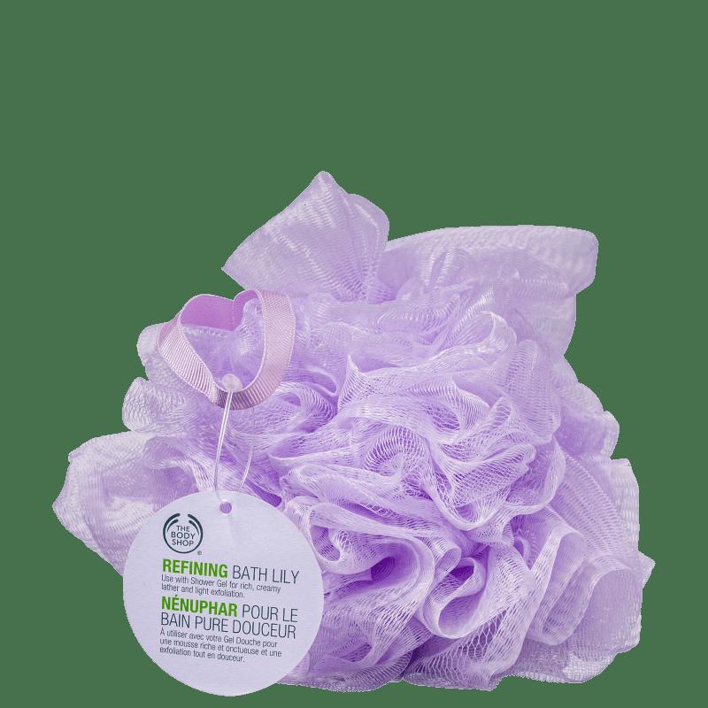 The Body Shop Ultra Fine Bath Lily Roxo - Esponja de Banho