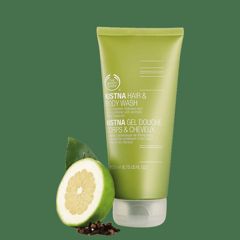 The Body Shop Kistna Hair & Body - Shampoo Multifuncional 200ml